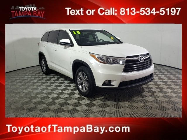 Certified Pre-Owned 2015 Toyota Highlander LE Plus V6