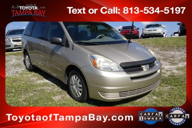Pre Owned 2005 Toyota Sienna CE