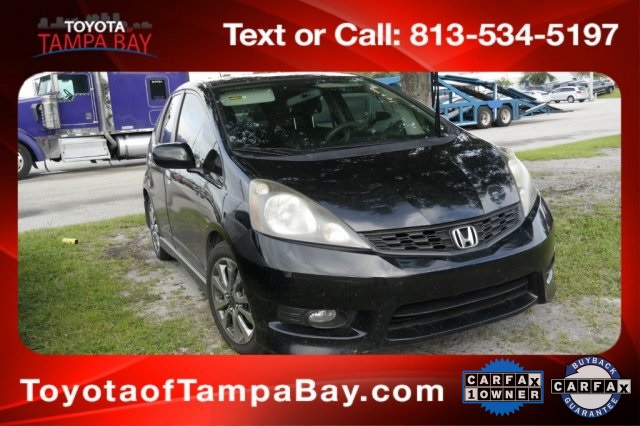 Pre Owned 2012 Honda Fit Sport 4d Hatchback In Tampa Bay X130709b