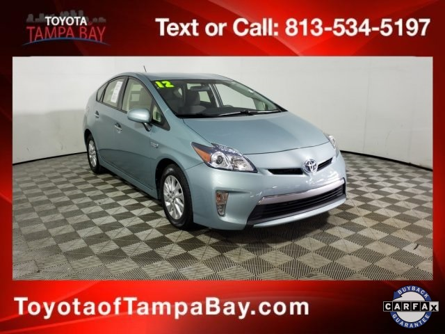 Pre-Owned 2012 Toyota Prius Plug-in Base