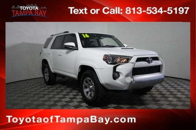 Certified Pre-Owned 2016 Toyota 4Runner Trail Premium