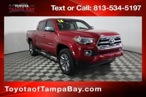 Certified Pre-Owned 2016 Toyota Tacoma Limited