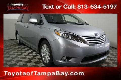 Certified Pre-Owned 2016 Toyota Sienna Limited