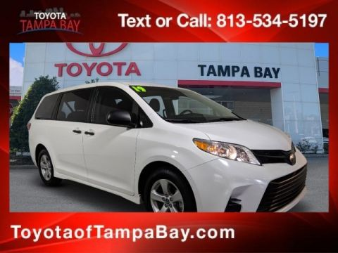 Certified Pre-Owned 2019 Toyota Sienna L