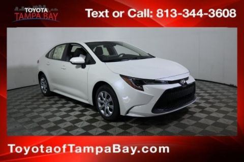 New 2020 Toyota Corolla LE LE in Tampa Bay # | Toyota of