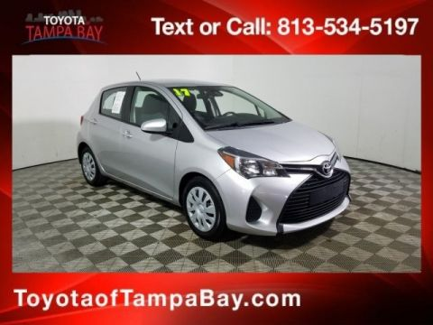 Certified Pre-Owned 2017 Toyota Yaris L