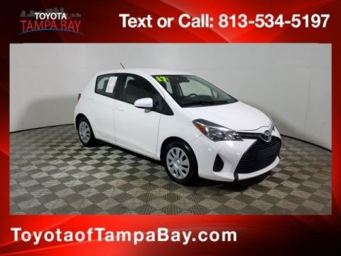 Certified Pre Owned 2017 Toyota Yaris L